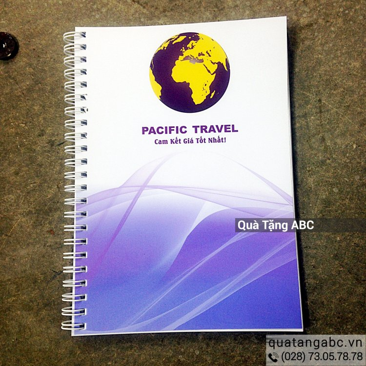 SỔ LÒ XO PACIFIC TRAVEL